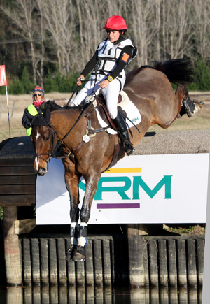 Annabel Wigley and NRM Enzo are now in second place in the CCI3* at Taupo.