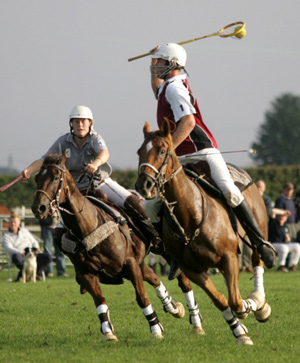 International polocrosse is coming to Newmarket, the home of horse racing, in August.