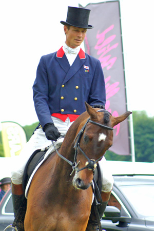 William Fox-Pitt and Lionheart.