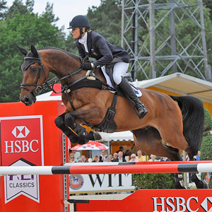 Lucinda Fredericks and Flying Finish were second in the CCI4*.