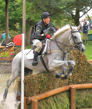 Alexander Peternell and Tiger's Eye II at Burghley last year.