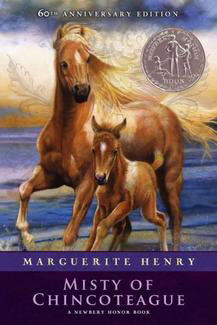 The Chincoteague pony swim is immortalised in Marguerite Henry's famous book Misty of Chincoteague.