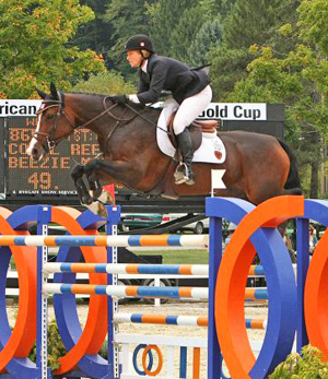 Beezie Madden and Coral Reef Via Volo win 2010 American Gold Cup.