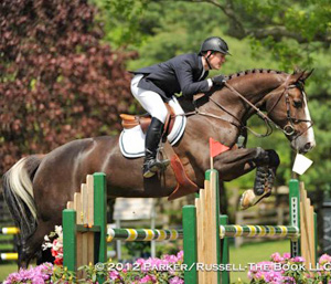 McLain Ward and Vocas competing this spring at the Old Salem Farm Horse Show.