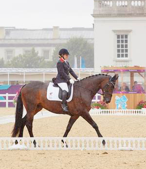 Natasha Baker and Cabral lead after the first Grade II test.