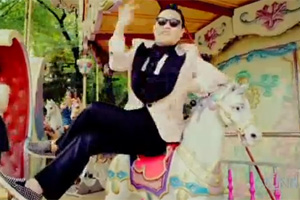 Psy's dance has taken the world by storm.