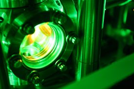 """High-energy lasers are needed to generate the super-short pulses needed to """"freeze the action"""" of molecular processes."""