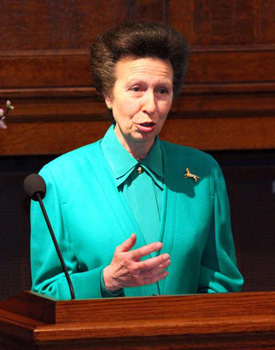NEF President Princess Anne, the Princess Royal.