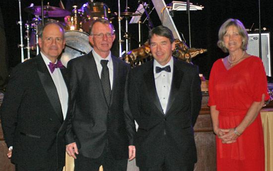 John Long, Dr Mark Fitch, Dr Richard Tully, and Lynn Coakley.