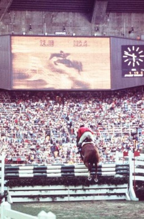 Showjumping at the 1976 Montreal Olympics.