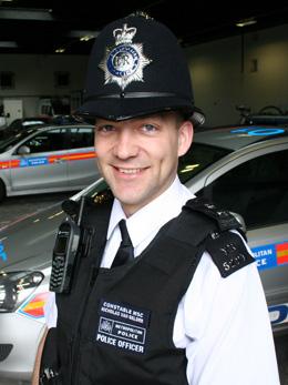 Special Constable Nic Van Gelder.