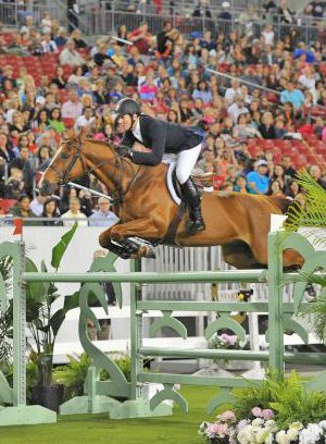 McLain Ward produced a quick and tidy double-clear effort with Rothchild to win the 2013 $200,000 Gene Mische American Invitational.