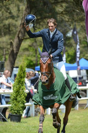 CIC2* winner Maxime Livio and Qalao des Mers.