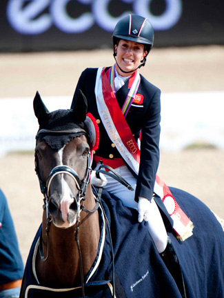 Top-scoring duo Charlotte Dujardin and Valegro.
