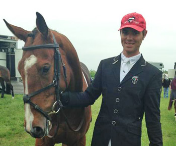Tom Gadsby, pictured with Ronan.