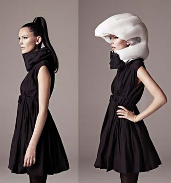 The airbag helmet.