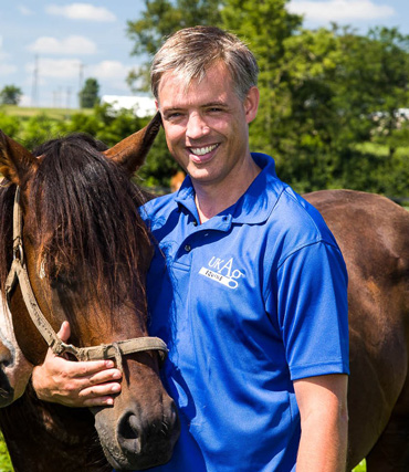Equine parasitologist Martin Neilsen hopes horse owners will back an innovative bid to raise cash for worm research.
