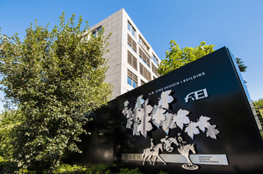 The HM King Hussein I Building, FEI headquarters in Lausanne, Switzerland.