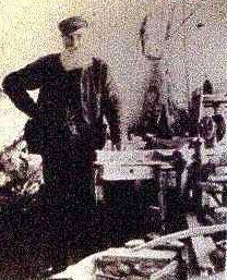 Stone polisher Thomas Kendrick. Photo: Llandudno Museum Facebook page
