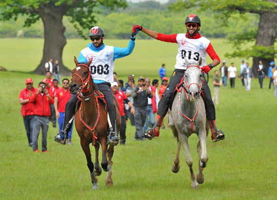 Family pride as brothers-in-law win Windsor endurance 2* title