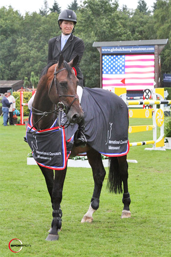 Beezie Madden and Breitling at Valkenswaard last year.