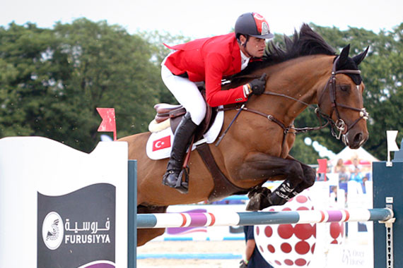 Derin Demirsoy and Harry K produced a pivotal second-round clear to put the Turkish team on the road to victory at the fourth leg of the Furusiyya FEI Nations Cup Jumping Europe Division 2 League in Sopot, Poland.