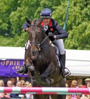 British eventer Nicola Wilson and Annie Clover. © Mike Bain