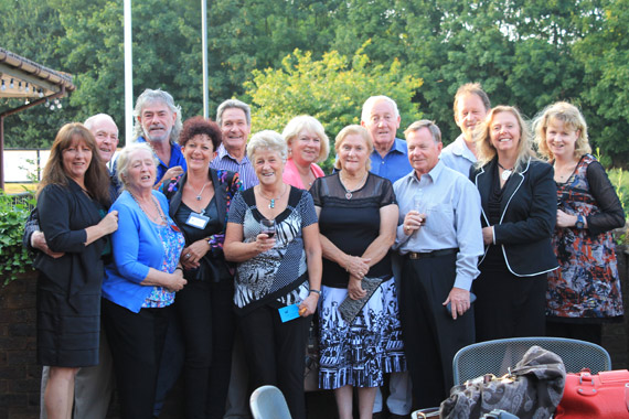 The New Zealand and Australian contingent at the 2013 Crabbet Convention.