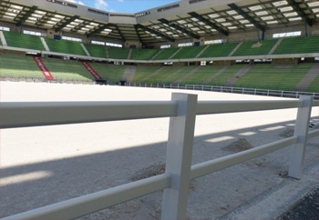 D'Ornano Stadium in Caen.