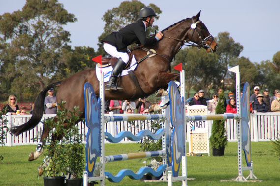 CCI1* winner Wilhelm Enzinger and Paihia Wilhelm.