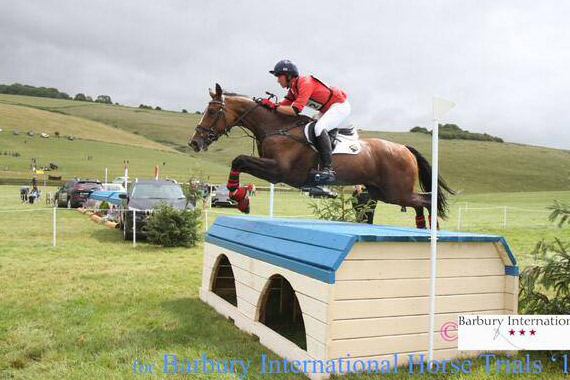 CCI2* section winner David Doel and Miss Caruso.