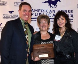 Adequan's Allyn Mann, Editor of Dressage Today Jennifer Mellace and Jeanette Sassoon.