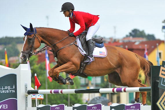 Ashlee Bond and Chela LS helped Team USA secure a sensational back-to-back Furusiyya FEI Nations Cup Jumping 2014 victory in Gijon, Spain, on Saturday.