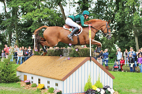 Joseph Murphy and Electric Cruise, in 53rd place for Ireland.