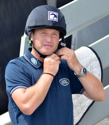 """Michael Jung: Going in to WEG as favourite """"does not put on more pressure""""."""