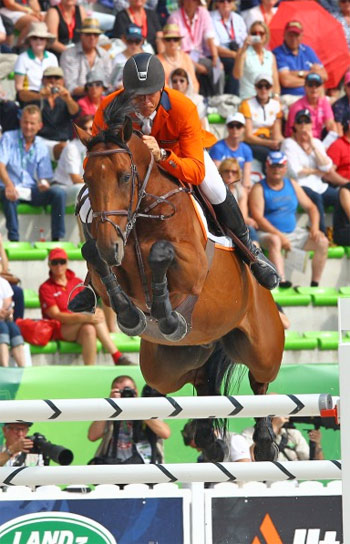 World Jumping Champion   Jeroen Dubbeldam with Zenith.