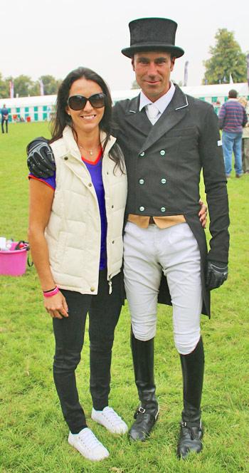 Neil Spratt with his sister, Samantha.