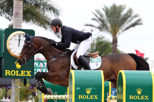 Olympic double gold medalist McLain Ward is among the starters in New York's Central Park Grand Prix later this month.