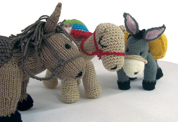 Duncan the donkey, Hattie the horse and Clarence the camel are waiting to be created.