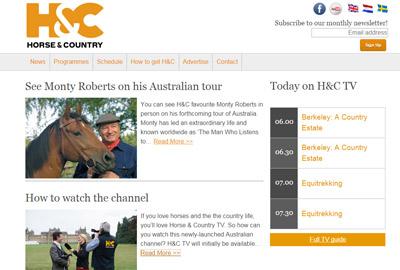 Equestrian TV channel launches in Australia - Horsetalk co nz