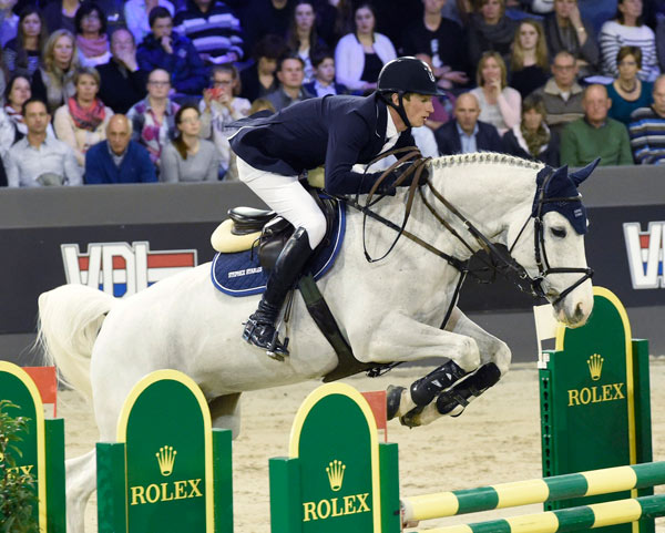 Rolex grand Prix winner Daniel Deusser and Cornet d'Amour.