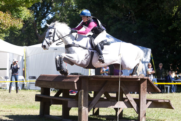 Emily Cammock and Dambala at New Zealand's Horse of the Year show last month.