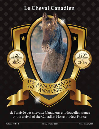 The Canadian Horse breed celebrates its 350th anniversary this year.