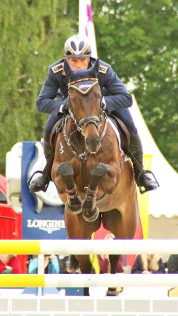 Andreas Ostholt and So is Et on their way to winning the CIC3*.
