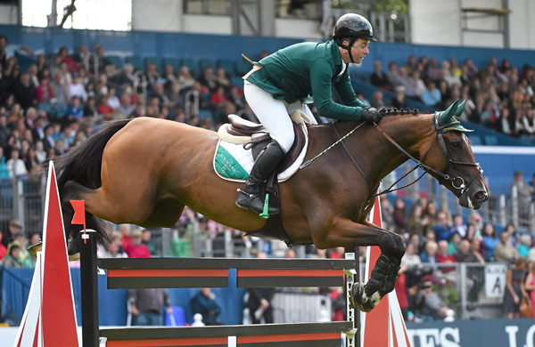 Cian O'Connor and Quidam's Cherie won the Falsterbo Derby in Sweden on Saturday.