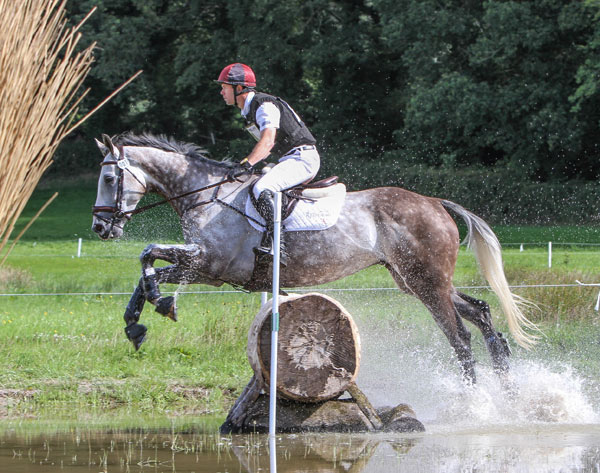 Kevin McNab and Romgar Hugo Boss were second in the CCI1*.