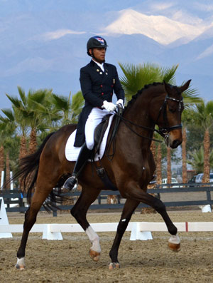 Steffen Peters and Rosamunde.
