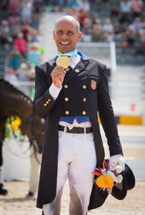US takes individual dressage gold, silver at Pan Am Games
