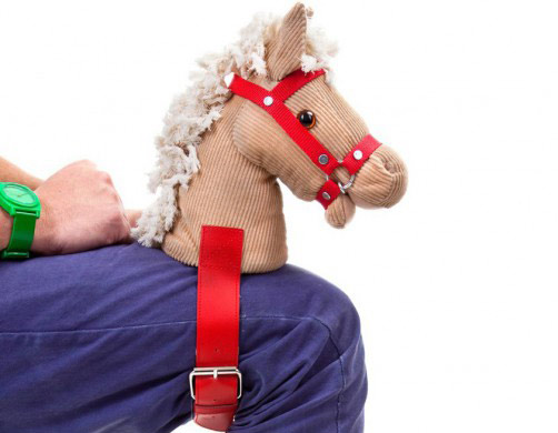 Strap on the Hoppe Hoppe Reiter 2.0 for the coolest horsey rides.