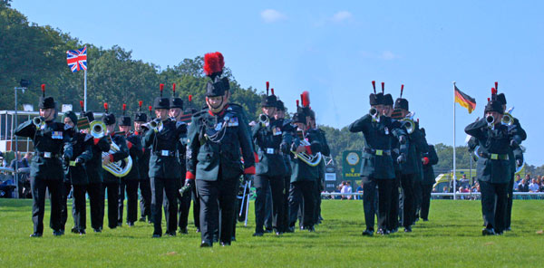 The Band and the Bugles of the Rifles